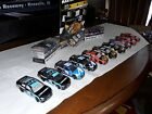 nascar diecast 1 64 lot loose A collection of Martins cars from his days JGR