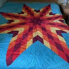 Native American Hand Quilted Star Quilt