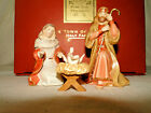 Lenox For The Holidays Little Town of Bethlehem Holy Family Nativity 3 Piece Set