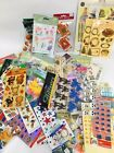 Huge Lot Over 60 packs of Scrapbooking and Craft Stickers FREE SHIP