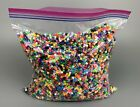 HUGE Lot Of PERLER Fused Melt BEADS MIXED Colors 5 MM Over 2 LBS