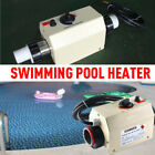3KW Electric Water Heater Thermostat Machine SPA and Swimming Pool Heater 220V