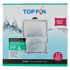 Top Fin PF L Silenstream Filter Cartridges 12 Pack 65 x 45 Free Shipping