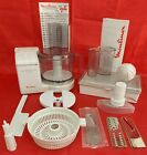 MOULINEX MASTERCHEF 450 ELECTRONIC FOOD PROCESSOR WITH EXTRAS PLEASE READ