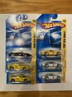 Lot Of 6 Hot Wheels Ferrari FXX And 250 LM Silver Yellow Black Diecast 1 64