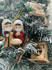 Nativity Sets for Christmas Indoor Holy Family Figuriner Decoration and Displ