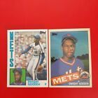 1984 & 1985 TOPPS TIFFANY DWIGHT DOC GOODEN RC ROOKIE CARD ICONIC SUPER CLEAN