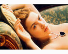 KATE WINSLET TOPLESS ON COUCH TITANIC 8X10 COLOR PHOTO