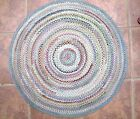 Vintage BRAIDED TABLE MAT,Silk, Very Large,28