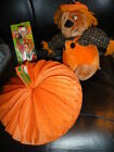 VINTAGE HALLOWEEN PLUSH DOLL A BEISTLE PUMPKIN DECORATION & WITCH PEZ FUN LOT