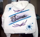 Airbrushed T shirt NAME Design Personalized All Sizes