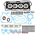 FOR 93 97 18 TOYOTA COROLLA GEO HEAD GASKET BOLTS SET 7AFE