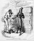 KU KLUX COLORED RACE VOTE EQUAL RIGHTS NEGROES NO MORE WHITE LEAGUE THOMAS NAST