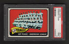 1965 Topps #513 New York Yankees Team PSA MINT 9