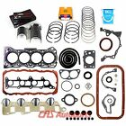 89 95 16L GEO TRACKER SUZUKI SIDEKICK 8V ENGINE FULL GASKET SET BEARINGS RINGS
