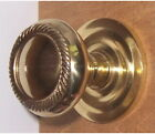 Single Surface Mount Solid Brass Door Knob, Rosettes and Surface Mount Hardware