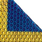 18ft x 9ft Gold Blue 500 Micron Swimming Pool Cover Solar Heat Retention Covers