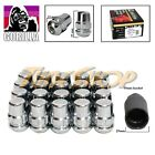 20 LOCK GORILLA HONDA ACURA BALL RADIUS STOCK OEM WHEELS LUG NUTS 12X1.5 CHROME