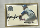 BRUCE SUTTER 2000 FLEER GREATS OF THE GAME CERTIFIED AUTOGRAPH BV$25.00