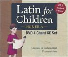 Latin For Children Primer Level A Set 3 DVDs + Chant CDs Dr Christopher Perrin