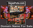 Vegas Pubs com Domain Name 4 Sale Beer Fish  Chips Food Pool Tables Fun Time