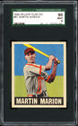 1948-49 Leaf #97 Marty Marion Rookie Card SGC 96 MINT