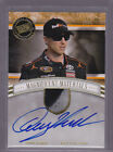 2012 Press Pass Fanfare Magnificent Materialsr Glove Auto Denny Hamlin 28 99