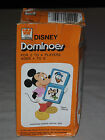 VINTAGE TOY  1976 MICKEY MOUSE DONALD DUCK DISNEY  DOMINOES