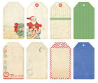 Melissa Frances GN602 Christmas Tag Collection 16 Tags NEW