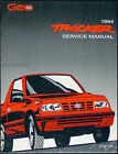 1994 Geo Tracker and LSi Factory Repair Shop Manual Original OEM Chevrolet Chevy