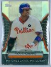 RYAN HOWARD 2012 TOPPS GOLDEN MOMENTS DIE CUTS REDEMPTION SP