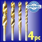 Dremel 636 4pc Wood Drill Bit Set 3 4 5 6mm hobby multi tool rotary auger point