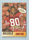 JERRY RICE 1993 STADIUM CLUB RECORD BREAKER MEMBERS ONLY AUTOGRAPH AUTO