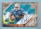 PERCY HARVIN 2009 UPPER DECK DRAFT EDITION RC COPPER AUTOGRAPH AUTO 50