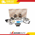 Fit 96 00 Chevrolet Geo Metro 10L G10 SOHC Master Overhaul Engine Rebuild Kit