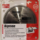 Porter Cable 12902 10 80T Carbide Miter Saw Blade Extra Fine Wood Cutting Table