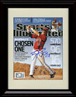 Framed Bryce Harper Sports Illustrated Autograph Print - Washington Nationals