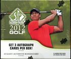 2 BOX LOT 2012 UD UPPER DECK SP AUTHENTIC GOLF SEALED HOBBY