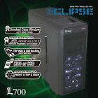 ATX Mid Tower PC Desktop Gaming Computer Case w Fan Controller by Gamemax