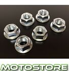 STEEL SILVER SPROCKET NUTS HONDA NSR125R 1994-2003