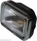 Universal Motorcycle Streetfighter Twin Headlight Headlamp with Flip Cover