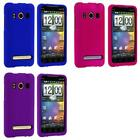 Color Hard Snap On Rubberized Skin Case Cover for HTC Sprint EVO 4G Phone