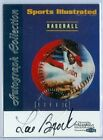 LOU BROCK 1999 SI SPORTS ILLUSTRATED FLEER GREATS OF THE GAME AUTO AUTOGRAPH SP