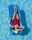 NON INFLATABLE SWIMMING POOL DELUXE FOAM FLOAT MATTRESS LOUNGE BEACH RAFT