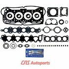 Head Gasket Set w Silicone for 92 01 SUZUKI SIDEKICK X90 ESTEEM TRACKER G16K
