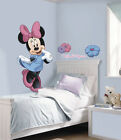 DISNEY MINNIE MOUSE Wall Mural Stickers NEW Giant 40 Vinyl Decals Mickey Decor