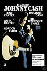 1970's Country: Johnny Cash   German Tour Concert Poster 1975