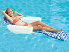 New Swimways Lei Soleil Swimming Pool Lounge Chair w Foot Rest