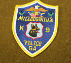17963) US Patch Milledgeville Georgia K 9 Police Canine Insignia Sheriff