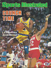 JAMES WORTHY LOS ANGELES LAKERS SIGNED SPORTS ILLUSTRATED W PSA COA